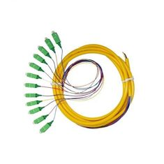 الصين Professinal SC Fiber Optic Patch Cord، Single Mode Fiber Pigtails OEM / EDM المزود